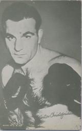 1947/1966 Boxing Exhibit Anton Christoforidan   #*