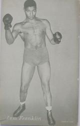 1947/1966 Boxing Exhibit Lem Franklin   #*