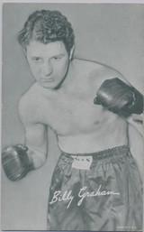 1947/1966 Boxing Exhibit Billy Graham  #*