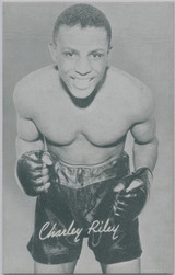 1947/1966 Boxing Exhibit Charley Riley  #*
