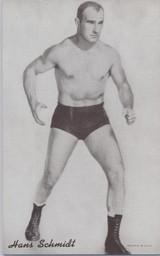 1947/66 Wrestling Exhibits Hans Schmidt  #*