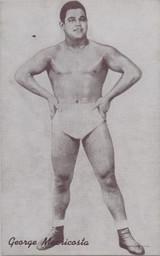 1947/66 Wrestling Exhibits George Maericosta  #*