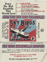 1933/34 National Chicle Sky Bird 1 Cent Wrapper  #*