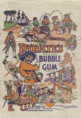 1933 Gum Inc Pirate's Bubble Gum Wrapper   #*