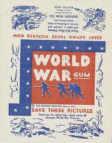 1933 Goudey R 174 World War Gum Wrapper  #*