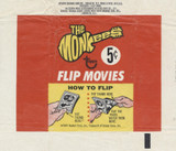 1967 Topps The Monkees Flip Movies 5 Cents Wrapper  #*