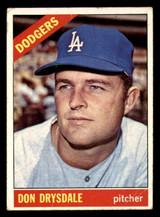 1966 Topps #430 Don Drysdale G-VG