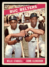 1966 Topps #99 Willie Stargell/Donn Clendenon Buc Belters Very Good  ID: 312393