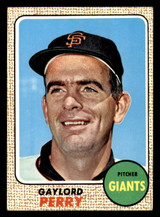 1968 Topps #85 Gaylord Perry Very Good  ID: 312398