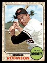 1968 Topps #20 Brooks Robinson Very Good  ID: 312400