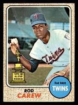 1968 Topps #80 Rod Carew Excellent+  ID: 312403