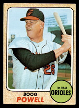 1968 Topps #381 Boog Powell Excellent+  ID: 312405