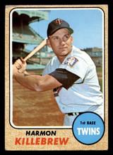 1968 Topps #220 Harmon Killebrew G-VG  ID: 312406