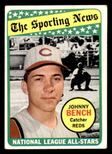 1969 Topps #430 Johnny Bench AS Very Good  ID: 312420