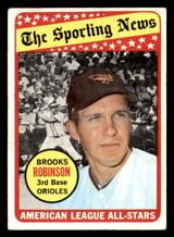 1969 Topps #421 Brooks Robinson AS G-VG