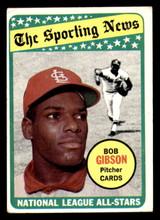 1969 Topps #432 Bob Gibson AS VG-EX