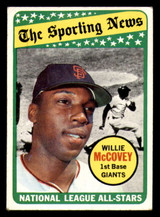 1969 Topps #416 Willie McCovey AS Very Good  ID: 312424