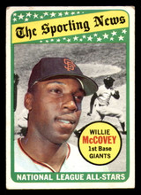 1969 Topps #416 Willie McCovey AS Very Good  ID: 312425