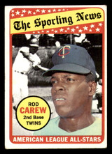1969 Topps #419 Rod Carew AS Excellent  ID: 312427