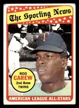 1969 Topps #419 Rod Carew AS Very Good  ID: 312430