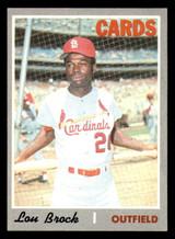 1970 Topps #330 Lou Brock Ex-Mint  ID: 312487