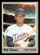 1970 Topps #290 Rod Carew Good  ID: 312489