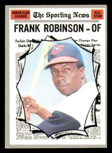 1970 Topps #463 Frank Robinson All-Star Excellent+  ID: 312491