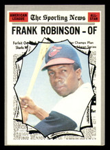 1970 Topps #463 Frank Robinson All-Star Excellent+  ID: 312492