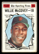 1970 Topps #450 Willie McCovey All-Star Good  ID: 312494