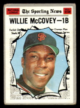 1970 Topps #450 Willie McCovey All-Star Good  ID: 312495