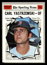 1970 Topps #461 Carl Yastrzemski All-Star Very Good  ID: 312496