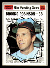 1970 Topps #455 Brooks Robinson All-Star Excellent