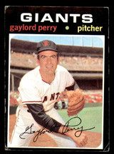 1971 Topps #140 Gaylord Perry Good