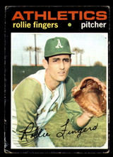 1971 Topps #384 Rollie Fingers Very Good  ID: 312521