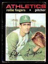 1971 Topps #384 Rollie Fingers Poor  ID: 312522