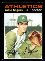 1971 Topps #384 Rollie Fingers VG-EX  ID: 312523