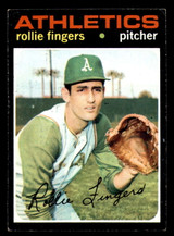 1971 Topps #384 Rollie Fingers Excellent  ID: 312524