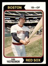 1974 Topps #280 Carl Yastrzemski Excellent+  ID: 312628