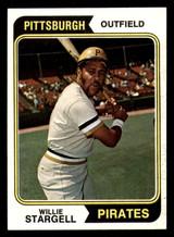 1974 Topps #100 Willie Stargell Near Mint  ID: 312635