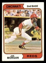 1974 Topps #85 Joe Morgan Excellent+  ID: 312638