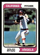 1974 Topps #20 Nolan Ryan Near Mint  ID: 312641