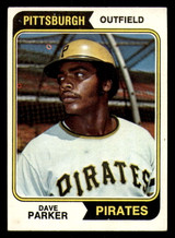 1974 Topps #252 Dave Parker Excellent+ RC Rookie  ID: 312646