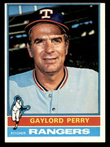 1976 Topps #55 Gaylord Perry Ex-Mint  ID: 312682