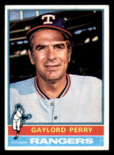 1976 Topps #55 Gaylord Perry Very Good  ID: 312683