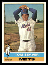 1976 Topps #600 Tom Seaver Excellent+  ID: 312694