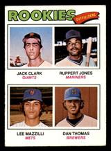 1977 Topps #488 Jack Clark/Ruppert Jones/Lee Mazzilli/Dan Thomas Rookie Outfielders Excellent+ RC Rookie