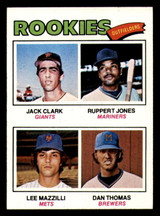 1977 Topps #488 Jack Clark/Ruppert Jones/Lee Mazzilli/Dan Thomas Rookie Outfielders Ex-Mint RC Rookie  ID: 312699