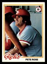 1978 Topps #20 Pete Rose DP Very Good  ID: 312700