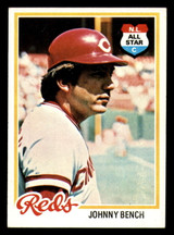 1978 Topps #700 Johnny Bench Ex-Mint  ID: 312708