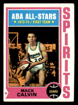 1974-75 Topps #245 Mack Calvin Excellent+  ID: 312940